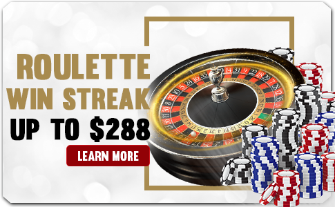 ROULETTE WIN STREAK UP TO $288