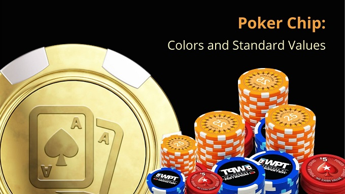 What is the value of each casino poker chip?