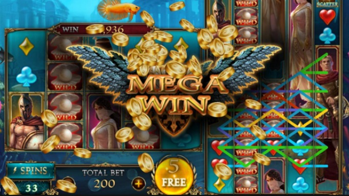 What are colossal reels in slot machines?