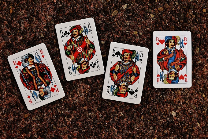 Did you know that the face cards are later associated with prominent figures?