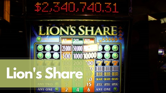 What is the biggest jackpot in Lion's Share?