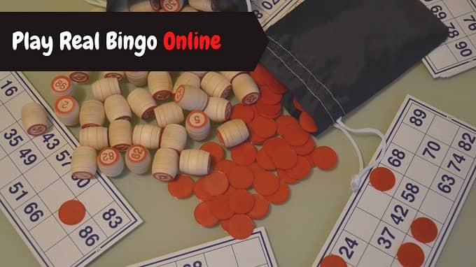 How to play real bingo online?