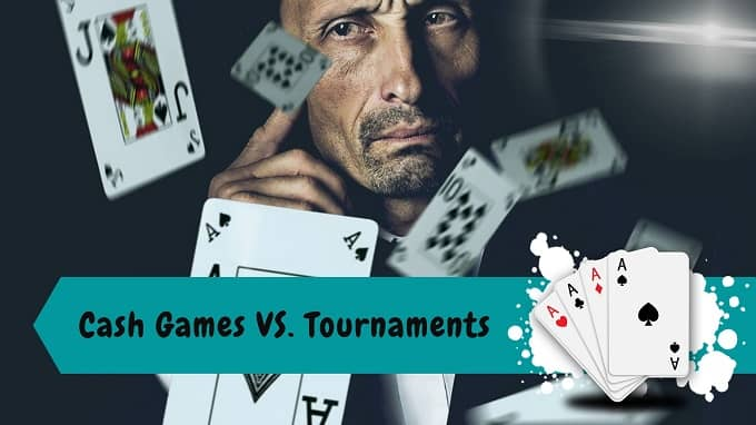 What are the pros and cons of cash games?