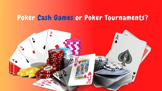 difference between cash games and tournaments