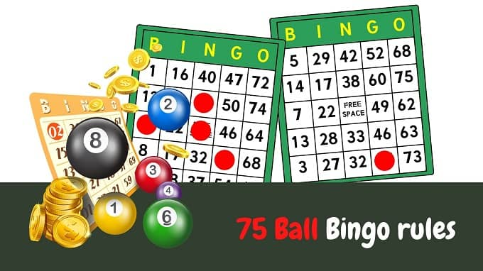 What are the rules of 75-Ball Bingo?