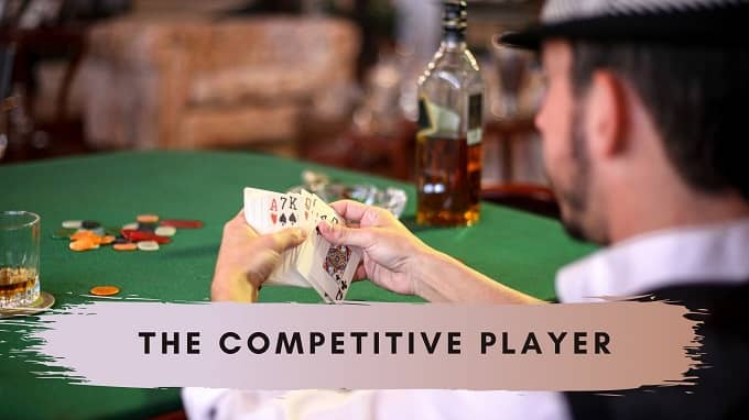 What casino games are suitable for Competitive players?