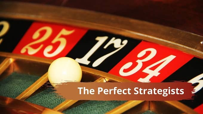 Who are the Perfect Strategists in the casino poker personality test?