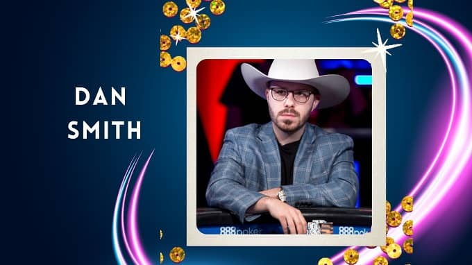 What is Dan Smith's best live cash by playing poker?