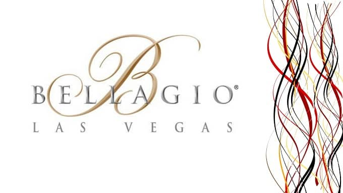 Does the Bellagio casino logo have symbolic meaning?