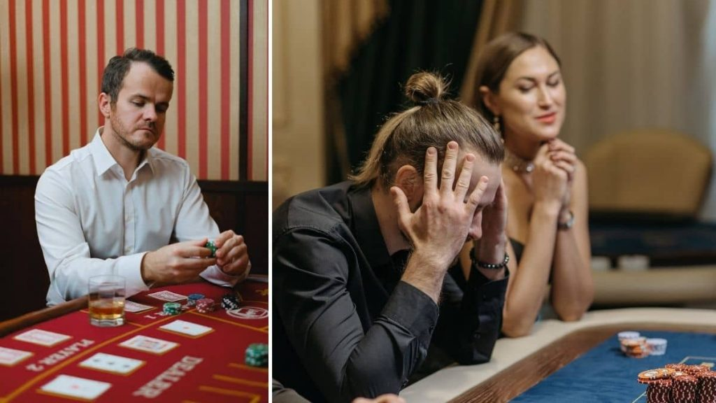 Does gambling cause depression?